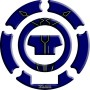 Protège capuchon de réservoir moto 3D Keiti® Bleu Yamaha 00-
