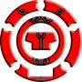 Protège capuchon de réservoir moto 3D Keiti® Rouge Yamaha 00-