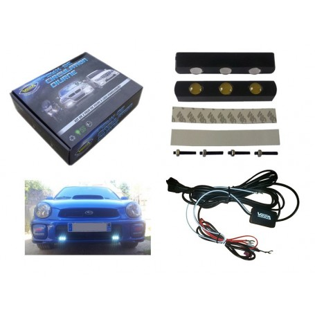 Kit Vega® 2 feux diurnes automatiques 3 leds LUXEON 12V