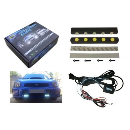 Kit Vega® 2 feux diurnes automatiques 5 leds LUXEON 12V