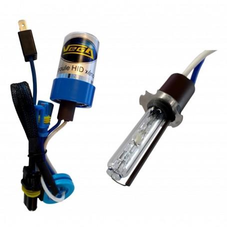 Ampoule HID Xénon Vega® H3 55W à embase métallique