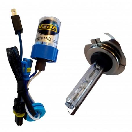 Ampoule HID Xénon Vega® H7 55W à embase métallique