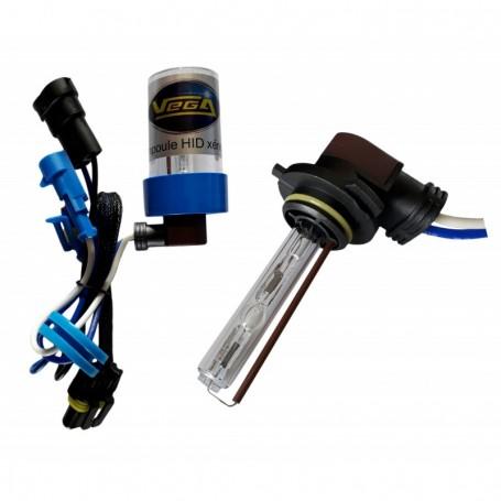 Ampoule HID Xénon Vega® HB3 9005 55W à embase coudée