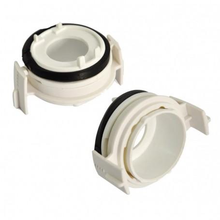 Adaptateur ampoule HID xénon blanc BMW Série 3 E46-E65-E90 98-05 Ampoule H7