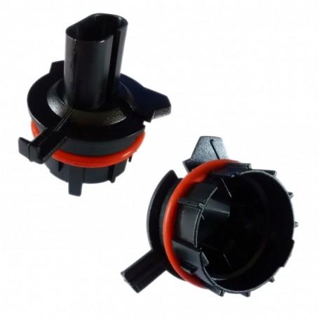 Adaptateur ampoule HID xénon BMW E39 Série 5 Phase 1 SLK Ampoule H7