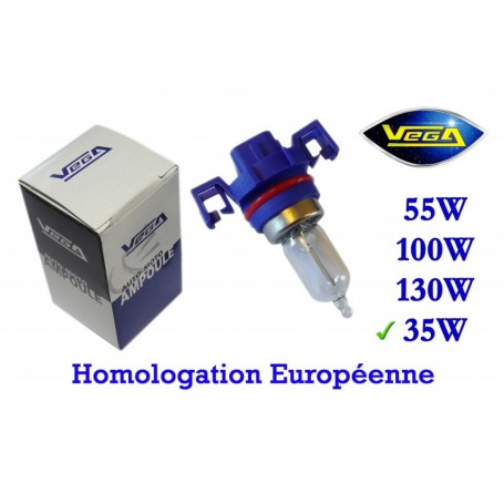 Ampoule Vega® halogène Maxi H16 PGJ19-3 homologuée 19W 12V