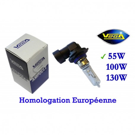 Ampoule Vega® halogène Maxi HB3 9005 P20d homologuée 60W 12V
