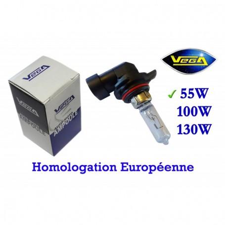 Ampoule Vega® halogène Maxi HIR2 9012 PX22d homologuée 55W 12V