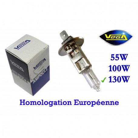 Ampoule Vega® halogène Maxi H1 P14.5s 130W 12V