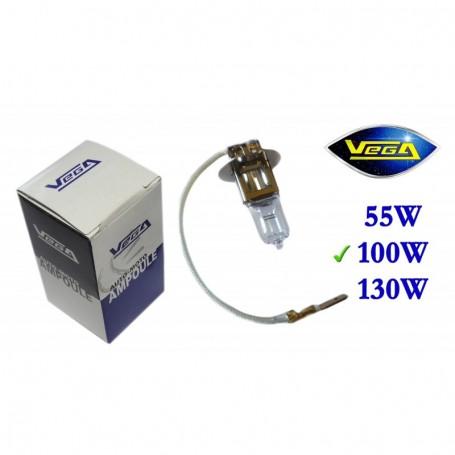 Ampoule Vega® halogène Maxi H3 PK22s 100W 12V