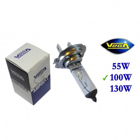 Ampoule Vega® halogène Maxi H7 PX26d 100W 12V
