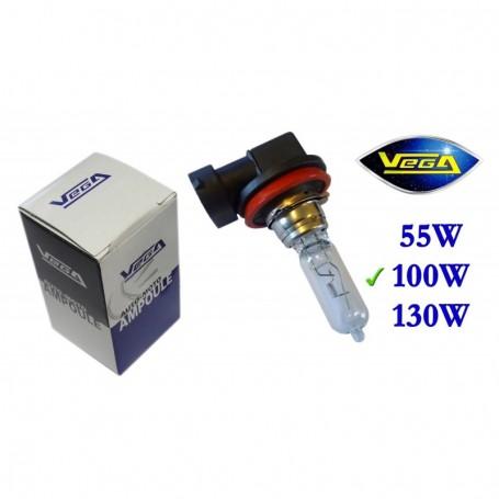 Ampoule Vega® halogène Maxi H9 PGJ19-5 100W 12V