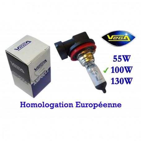 Ampoule Vega® halogène Maxi H11 PGJ19-2 100W 12V