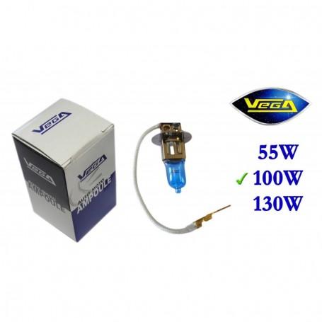 Ampoule Vega® Xénon Daylight H3 PK22s 100W 12V
