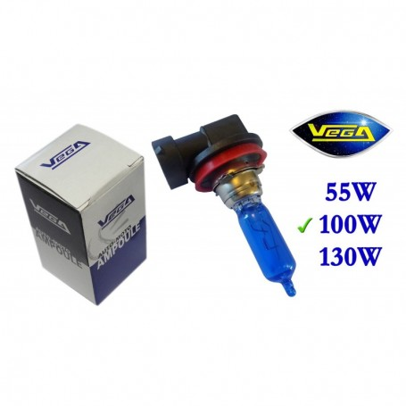 Ampoule Vega® Xénon Daylight H9 PGJ19-5 100W 12V