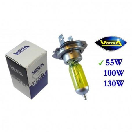 Ampoule Vega® jaune ancien H7 PX26d homologuée 55W 12V