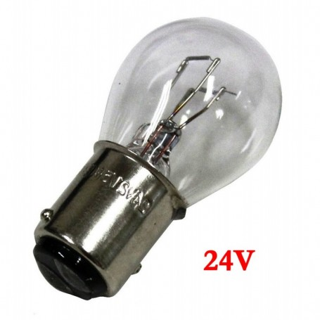 Ampoule Vega® P21/5W BAY15D homologuée 21W 24V