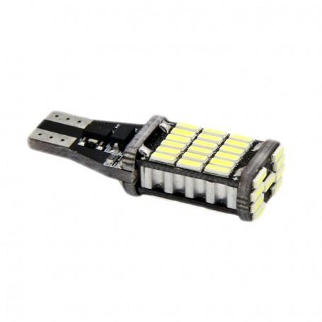 Ampoule T15 W16W 45 leds 4014SMD anti-erreur ODB Blanche xénon