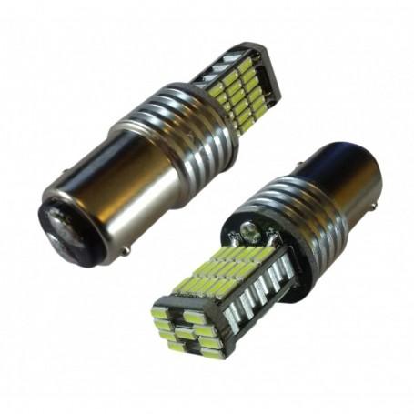 Ampoule 45 leds SMD4014 P21/5W blanche