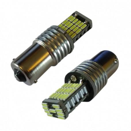 Ampoule 45 leds SMD4014 P21W blanche