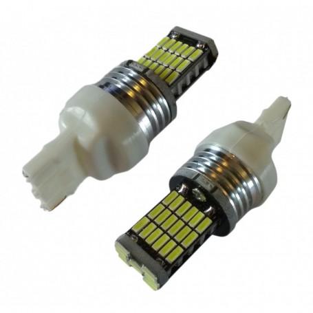Ampoule 45 leds SMD4014 W21W blanche