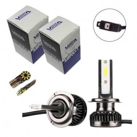 Kit Q3 Full leds COB 360° Vega® 2 ampoules H7 12V 24V
