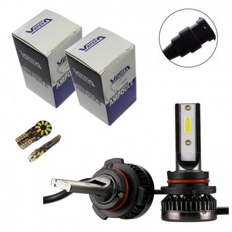 Kit Q3 Full leds COB 360° Vega® 2 ampoules HB3 12V 24V