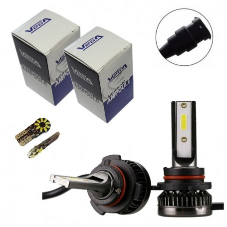 Kit Q3 Full leds COB 360° Vega® 2 ampoules HB4 12V 24V