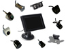 Moniteur couleur support pare-brise TFT 12 cm option caméra de recul