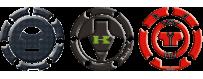 Capuchon réservoirs décoratifs protecteurs 3D pour motos