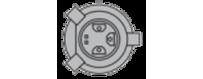Ampoules H4 P43t Jaune ancien Vega® 12V