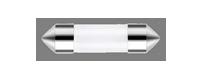 Ampoules à leds Vega® C5W SV8.5 31 mm