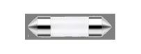 Ampoules à leds Vega® C5W SV8.5 39 mm
