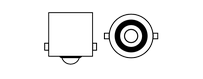 Ampoules à leds Vega® P21W BA15S
