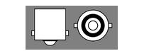 Ampoules 24V Vega® P21W BA15S