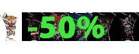 Déstockage de protège-réservoirs 3D vinyle instaltérable -50%