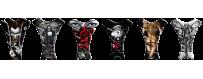 Protège réservoirs décoratifs protecteurs 3D pour motos