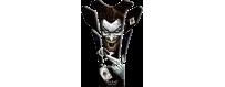 Protège réservoirs décoratifs protecteurs 3D pour motos Joker